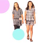 Seelik ja pluus 122 - 164cm / Skirt & blouse / Burda 9488