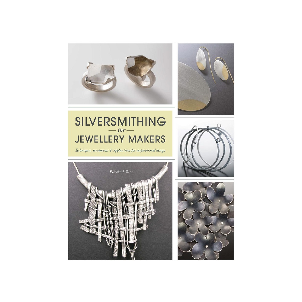 "Raamat ""Silversmithing for Jewellery Makers"""