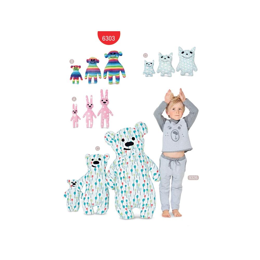 Lõiked: mänguasjad, Burda Style Nr. 6303