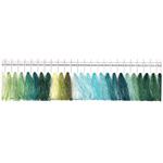 Masintikkimisniit Shanfa 3000y - värvivalik 11 rohekad toonid