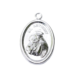 Metal St. Anthony Charm / 25 x 17mm