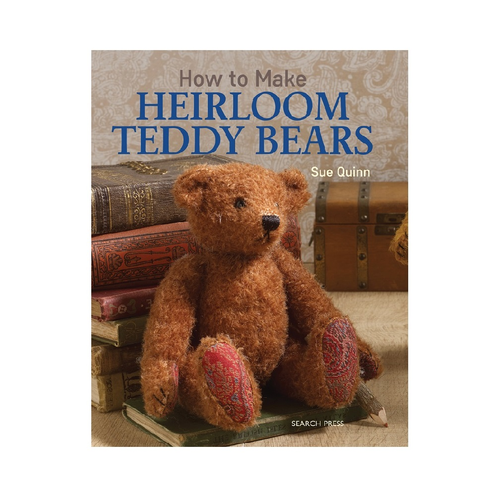 "Raamat ""How to Make Heirloom Teddy Bears"""