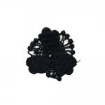 Õmmeldav Aplikatsioon; Väike lilleke/ Embroidered Iron-On Patch; Flower 3,5cm