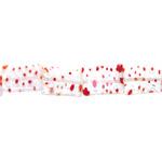 Kirjud mustrilised kandilised lapikud millefiori pärlid 17x12x4mm
