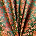 Pidulik, kauni läikega, kerge reljeefse lillemustriga kostüümikangas 620079; 138cm