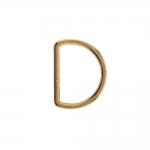 Полукольцо, D-образное кольцо, подходит для тесьма 25мм