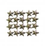 Tähekujulised tahulised triigitavad dekoratiivkivid 9mm, 20tk pakis