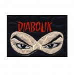 Triigitav Aplikatsioon; koomiksikangelane `Diabolik` 13x9cm