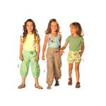 Püksid 104 - 140 cm / Pants / Burda 9519