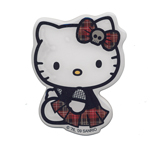 3D kleebis; Goth Hello Kitty / 8 x 6cm