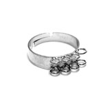 8-Loop Finger Ring Base / 18,55mm