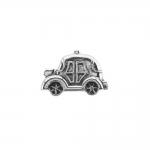 Autokujuline, metallilaadne, kannaga plastiknööp 18x12m/28L