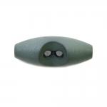 Пуговица-тогглс пластиковая на 2 прокола 3x1,2cm