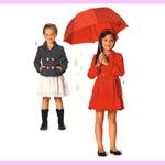 Mantel ja jakk 116 - 152cm / Coat & jacket / Burda 9487