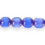 Piklik tahuline, otstest kuldne (Jablonex) 10x8mm klaashelmes