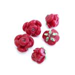 Lillekujuline käsitööhelmes 10mm