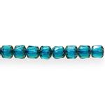 Torujas pärlmutter reljeefse mustriga 6x6mm klaashelmes