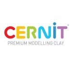 Polymer clay Cernit No.1 set 5pcs x 30g