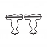 Suspender hook, dungaree buckle for 40mm tape