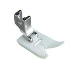 Teflon universaaltald standardse kruvikinnitusega masinatele, suurim õmbluslaius 5-7mm / Teflon Ultra Glide Foot, low shank