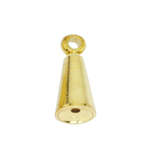 Memory Wire End Cap Cone with Eyelet / 10 x 4mm