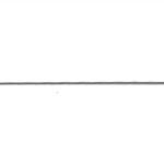 316L Stainless Steel Square straight Wire, 22 ga, 0,64 x 0,64 mm; 91 cm, 4 pcs, Beadalon 180S-322
