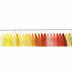 Masintikkimisniit Shanfa 3000y - värvivalik 3 kollakad ja oranžikad toonid