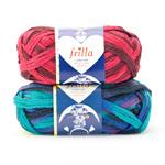 Frilla Scarf Yarn, Novita (Finland)