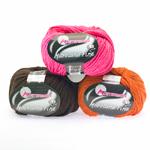 Meriinovilla sisaldusega poolvillane lõng Microlana Fine / Microlana Fine Yarn / Austermann (Austria)