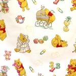 `Karupoeg Puhh` puuvillane kangas Disney `Winnie the Poh` 140cm 00760-01