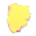 Värviline õmmeldav Hello Kitty plastik riputis / 35 x 25mm