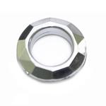 Metalsetes toonides tahuline läbipaistev akrüülist rõngas ø30 x 7,5mm