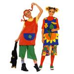Pipi ja Lilletüdruk, Kasv 122-170 cm / Pippi & Flowergirl / Burda 2772