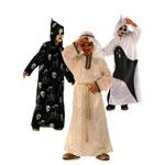 Luukere, Koll ja Šeik, Kasv 116-146 cm / Skeleton & Ghost & Sheikh / Burda 2496