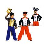 Hiirehärra ja Tsirkuse direktor, Kasv 104-140 cm / Cheeky Mouse & Circus Director / Burda 2407