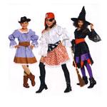 Kantritüdruk, Piraaditar ja Nõid, Kasv 116-148 cm / Cowgirl & Pirate & Witch / Burda 2400