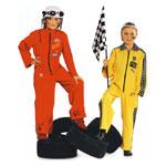 Võidusõitjad, Kasv 116-146 cm / Racing-Driver / Burda 2408