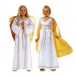 Rooma tüdruk ja Ingel, Kasv 128-164 cm / Roman Girl & Angel / Burda 2437
