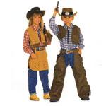 Cowboy & Cowgirl, Kasv 98-128 cm / Burda 2793
