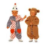 Kloun ja Mõmmik, Kasv 68-98 cm / Ours & Bear / Burda 4946