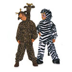 Kaelkirjak ja Sebra, Kasv 104-134 cm / Giraffe & Zebra / Burda 2790