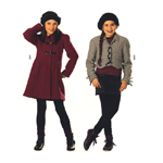 Mantel ja jakk 128- 164cm / Coat & Jacket Burda 9532