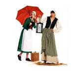 Kleit, jakk ja vest, Suurustele (Eur Sizes) 36-48 / Dress & Jacket & Vest / Burda 2457