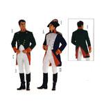 Napoleon, Suurustele (Eur Sizes) 46-58 / Burda 2471