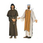 Šeik ja Munk, Lõiked suurustele (Eur Sizes) 44-54 / Sheikh & Monk / Burda 2822