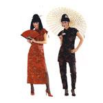 Hiina tibi, Lõiked suurustele (Eur Sizes) 34-42 / Suzi Wong / Burda 2773