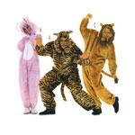 Loomad, Lõiked suurustele (Eur Sizes) Jänku: 38-48, Tiiger ja Lõvi: Nr.44-54 / Animals / Burda 3576