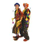 Klounid, Lõiked suurustele (Eur Sizes) Naised: 36(S)-54(XXL) ja mehed 44(S)-60(XXL)  / Clowns / Burda 2477