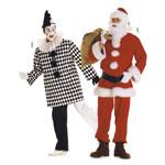 Arlekiin ja Jõuluvana, Lõiked suurustele (Eur Sizes) Nr. 46-60  / Santa Claus & Buffoon / Burda 2466