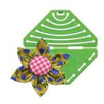 Jaapani Kanzashi stiilis roseti mallid / Kanzashi Flower Maker Clover (Japan) 8482